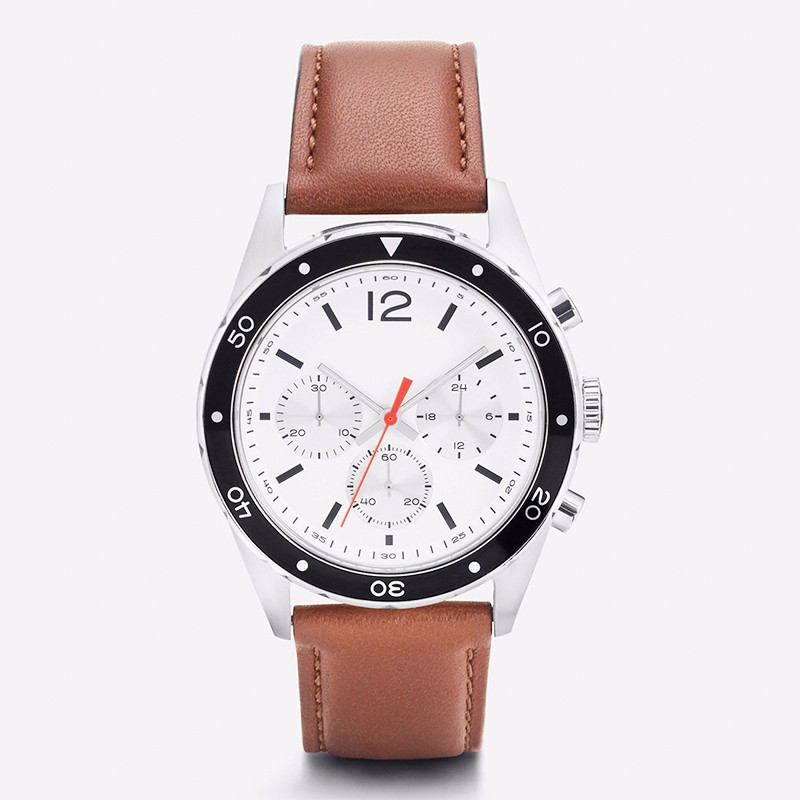 Men Watch Leather
